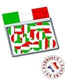 150 Confettis de table drapeau Italie