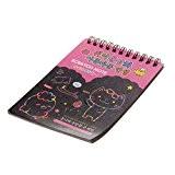 1pcs Carnet de Peinture à Gratter Papier à Dessin Croquis Cadeau Educatif Enfants