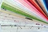 408,5x câble Couleurs assorties Cadeau de mariage Scrapbooking Fabrication de cartes Craft Mulberry papier fait à la main mixtes de ...