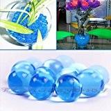 50g Eau Aqua Cristal sol Balle en gel perles mariage vase centre de table New absorbant ronde décoration de la ...