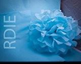 96 feuilles de papier de soie Bleu Ciel, 50x75cm, 18 grs