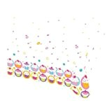 Amscan - 997213 - Nappe Plastifiée Cupcake - 120 x 180 cm