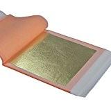 Barnabé Feuille d'Or véritable 21K, 25feuilles de transfert de 85mm (/brevet)