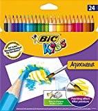 Bic Kids Aquacouleur Crayon de couleur effet aquarelle