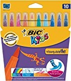Bic Kids Visaquarelle Feutre à pointe extra souple Couleurs assorties
