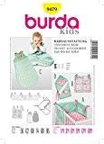 Burda B9479 Patron de Couture Ensemble Bébé 19 x 13 cm