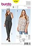 Burda femme Plus Patron de couture facile 6789-Pantacourt & Top, tunique