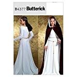 Butterick Patron de couture pour femme Robe Cape & 4377 historiques