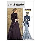 Butterick Patron de couture pour femmes - 4954 Déguisement historique début du 20e siècle