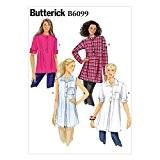 Butterick Patterns 6099 tailles Taille ZZ L/XL/XL (52-54 Patron de tunique pour femme