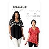 Butterick Patterns 6187 Taille XS 3/4/8/12 Petit/moyen/grand/XL/16/Miss Patron de couture pour femmes-dessus