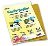 C. Kreul Papier claque pour fonds sombres, schéma, papier graphite 10feuilles format DIN A3
