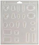 """Castin'artisanat bijoux plastique moule 7-1/4 """"X 8-1/4"""" X 1/2 """"-11 formes assorties"""