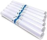 CI Chevalet Rouleaux Papier à dessin, Blanc, 54x 30x 6cm, Lot de 6