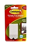 Command Medium Picture Hanging Strips, 17201 4pk (1 Pack of 4 Sets)