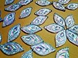 Couleur?: AB Strass Cabochons Eye navette Cristaux à coudre en forme pierres perles Accessores Courroie 16* * * * * ...