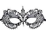 Coxeer Masque vénitien femme soirée costumé Masque Halloween Masque carnaval au bal Masque deguisement