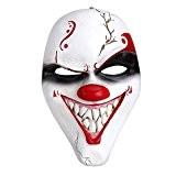 Crazy Genie Masque résine Cosplay Classique Collection Masquerade Costume Party (Big Mouth)