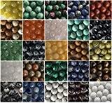 Crystal King Perles de pierres semi précieuses Gemmes Bijoux en pierres Perles de pierres Perles de pierre semi précieuses Perles ...
