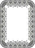 Darice 1217-48 Modèle Napperon Dentelle Classeur de Gaufrage Plastique Transparent 10,8 x 14,6 x 0,3 cm