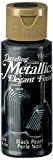 DecoArt Americana Peinture acrylique métallique, perle noir
