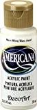 DecoArt Americana Peinture acrylique multi-usages, blanc chaud