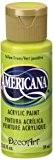 DecoArt Americana Peinture acrylique multi-usages, jaune/vert