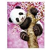 Diamant à broder au point de croix Tableau les animaux Panda Complet Carré Diamant mosaïque Kits 30cm * * * ...