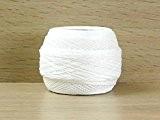 DMC Écossais Cebelia Crochet Coton Fil Taille 40blanc-par balle 50g