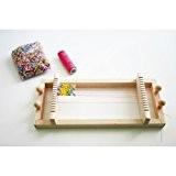 Eduplay Métier à tisser pour perles En bois Avec 100g de perles colorées