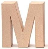 En Carton Lettre M 17,5x 5,5cm