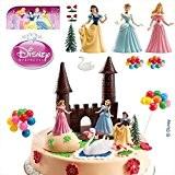 Figurine pour gâteau - Disney Princesses - 9 pièces - Dekora