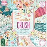First Edition Paradise Crush Bloc de papier FSC Multicolore 30,5x 30,5cm