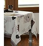 FLAURENCE - Nappe anti-taches - Rect. 140x200cm