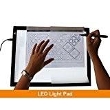 GAOMON B4 Taille LED Table Lumineuse 5 MM Ultramince Tablette Dessin Lumineuse Pad USB Art Panneau Dessin pour l'Esquisse et ...