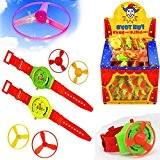 German Trendseller® - 6 x montres d'enfant hélice?petit cadeau ?l'anniversaire d'enfant?jouet volant?12 hélices