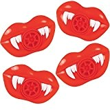 German Trendseller® - 8 x sifflets sirène de vampire l hurleur l petit cadeau pour halloween ? fête d'enfant ? ...
