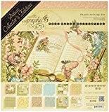 "graphic45""Once upon a Springtime Deluxe Double face papier papier cartonné"