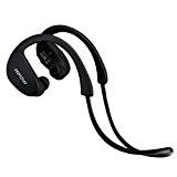 Headphones Mpow Cheetah Oreillette Bluetooth 4.1 stéréo, écouteurs sans fil Bluetooth de Sports avec la technologie de pointe AptX, écouteur ...