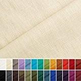 Holmar - tissu en lin - au mètre - pré lavé - 20 couleurs - beige