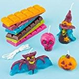 Kit de fabrication de bougie Halloween pour enfants à fabriquer (Par lot)