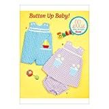 Kwik Sew Patterns k0220osz bébé salopette/robe et culotte, Patron de Couture soie, multicolore, petit-2x L