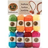 Lion Brand Yarn Company 1 pièce Bonbons, Crayons, Multicolore