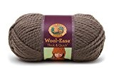 Lion Brand Yarn Company 1 pièce Wool-Ease Thick and Quick, Taupe
