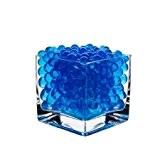 Lot de 10 sachets de perles d'eau Gel Bleu sol en Gel silicone Gel Bio d'eau pour la décoration de ...