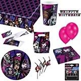 magnifique kit anniversaire complet monster high