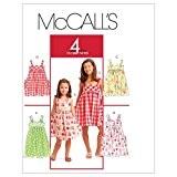 McCall Pattern Enfants / robes fillettes - modèle CHJ (7-8-10-12 - 14)