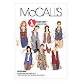 McCalls 2260 Patron de couture pour veste sans manches Tailles :  48-50