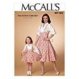 McCalls Mesdames & filles Patron de Couture 7184style vintage pour femme robe et tablier + sans Minerva Crafts Craft Guide