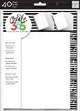 Me & My Big Ideas Create 365 Happy Planner Feuilles de papier quadrillé 17,8 x 23,5cm